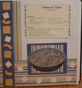 Ambrosia Salad Recipe Page