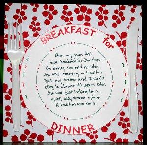 breakfast-dinner